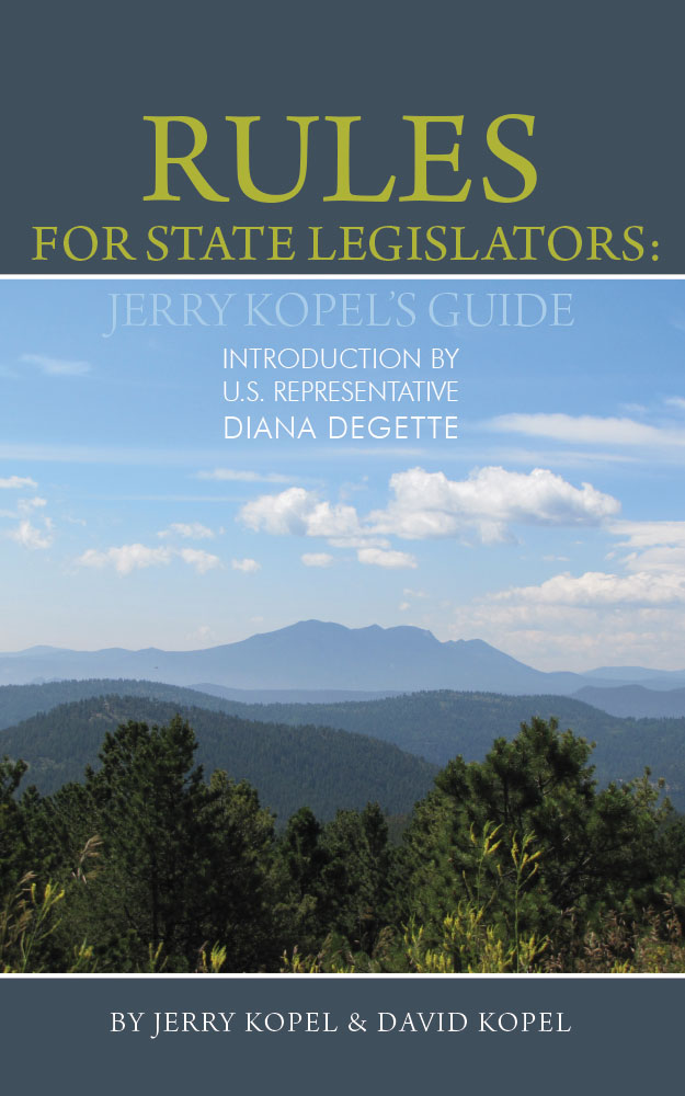 Rules for State Legislators cover